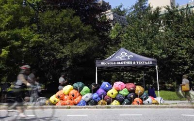 Wearable Collections @ NYC Greenmarkets time lapse video